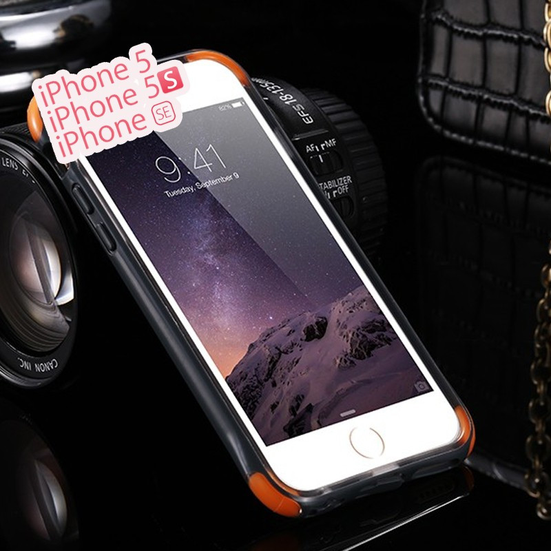 Coque MESH Soft Touch perforé Apple iPhone 5/5S/SE Noir