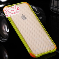Coque MESH Soft Touch perforé Apple iPhone 5/5S/SE