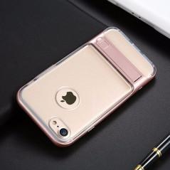 Coque bimatière transparente avec béquille Apple iPhone 7