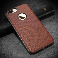 Coque magnétique Floveme NEO Apple iPhone 7 Plus Marron