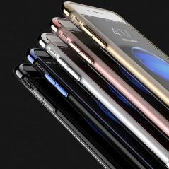 Coque silicone gel contours métallisés Apple iPhone 7/8 Plus