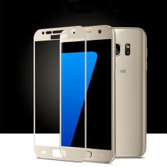Protection écran verre trempé intégrale avec contour Samsung Galaxy S7