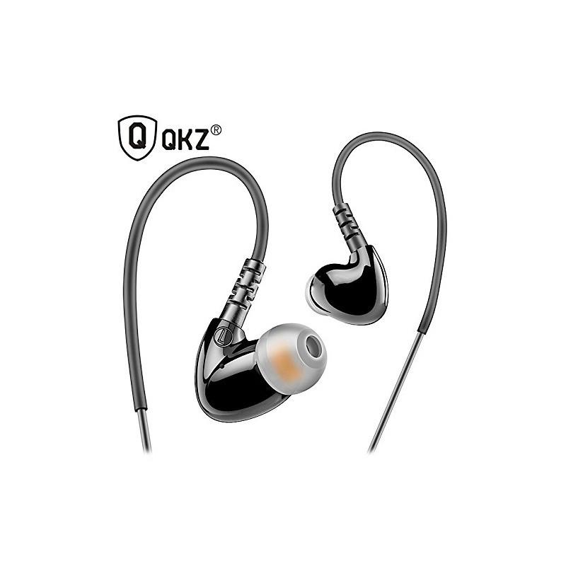 Ecouteurs intra-auriculaires sport QKZ S6 Noir