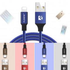 Câble Lightning 1.20mt Floveme Nylon tressé