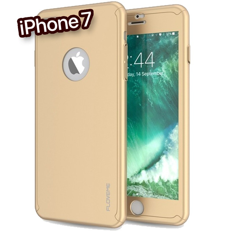 Coque FLOVEME 360° Protection Apple iPhone 7 Or