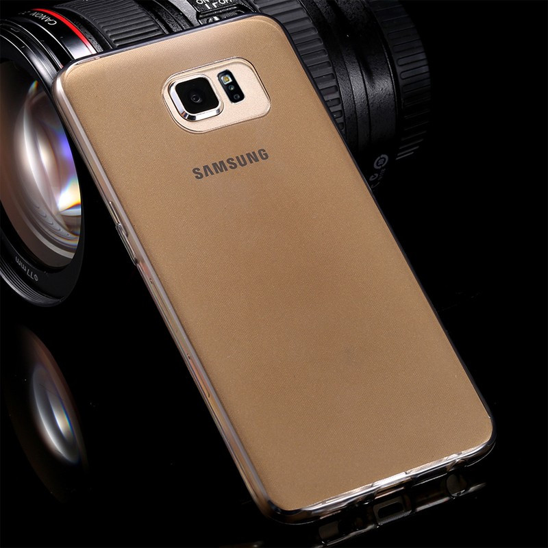 Coque gel Second Skin Samsung Galaxy S6 Noir