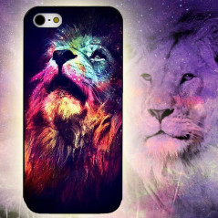 Coque silicone gel LION GALAXIE Apple iPhone 7