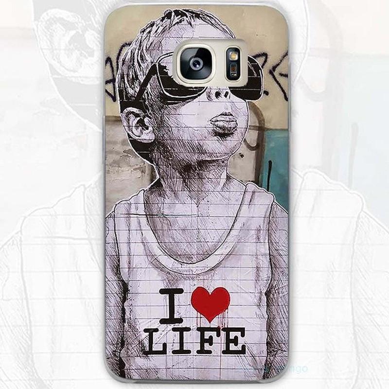 Coque rigide I LOVE LIFE Samsung Galaxy S7 Edge
