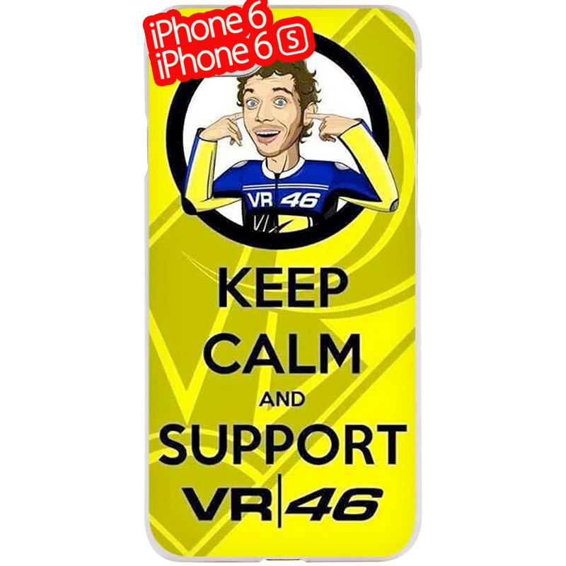 Coque rigide Valentino Rossi VR46 KEEP CALM Apple iPhone 6/6S