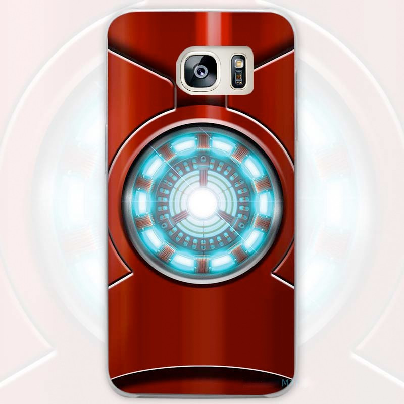 Coque rigide IRON MAN HEART Samsung Galaxy S7 Edge