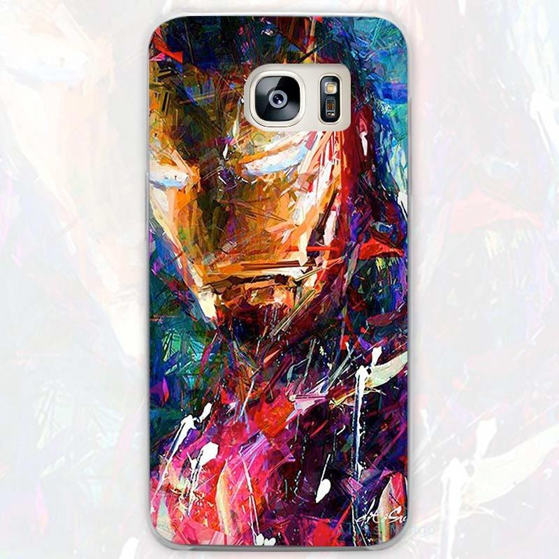 Coque rigide IRON MAN PAINTING Samsung Galaxy S7 Edge
