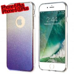 Coque silicone gel ultra pailletée Apple iPhone 6/6S Plus