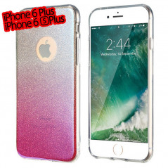 Coque silicone gel ultra pailletée Apple iPhone 6/6S Plus