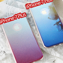 Coque silicone gel ultra pailletée Apple iPhone 7/8 Plus