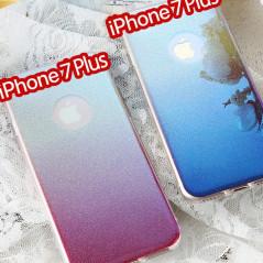 Coque silicone gel ultra pailletée Apple iPhone 7 Plus