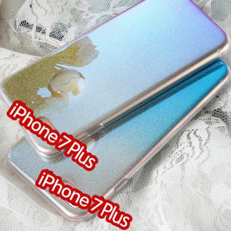 Coque silicone gel ultra pailletée Apple iPhone 7/8 Plus