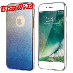 Coque silicone gel ultra pailletée Apple iPhone 7 Plus