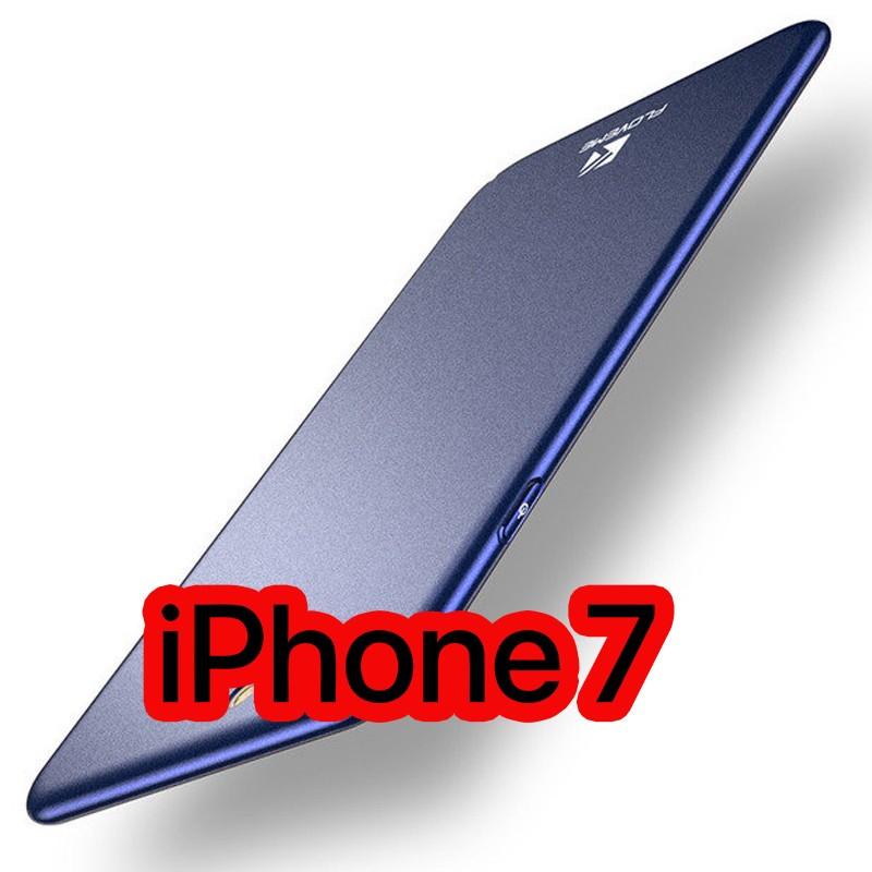 Coque rigide ultra-mince Floveme Frosty Series Apple iPhone 7 Bleu