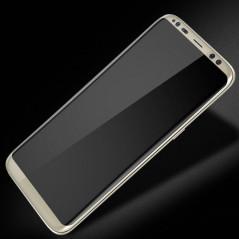 Protection écran verre trempé intégrale avec contour Samsung Galaxy S8 Plus