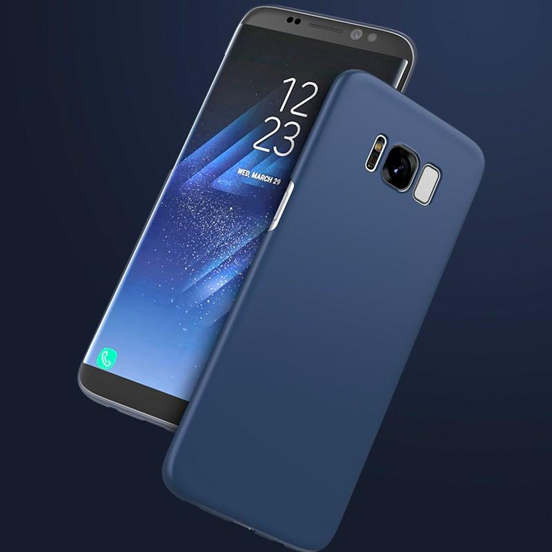 Coque rigide ultra-mince Floveme Frosty Series Samsung Galaxy S8 Bleu