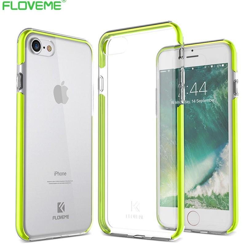 Coque FLOVEME Hybride avec contour renforcés Apple iPhone 7/8 Vert