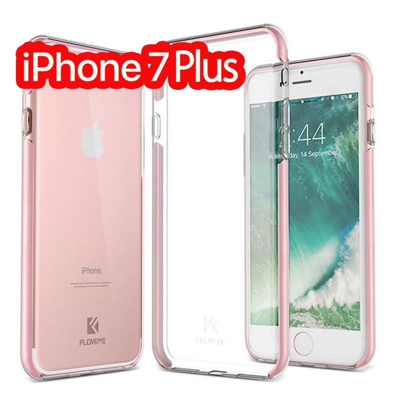 Coque FLOVEME Hybride avec contour renforcés Apple iPhone 7/8 Plus Rose