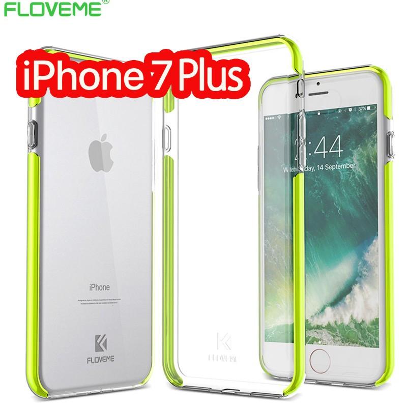 Coque FLOVEME Hybride avec contour renforcés Apple iPhone 7/8 Plus Vert