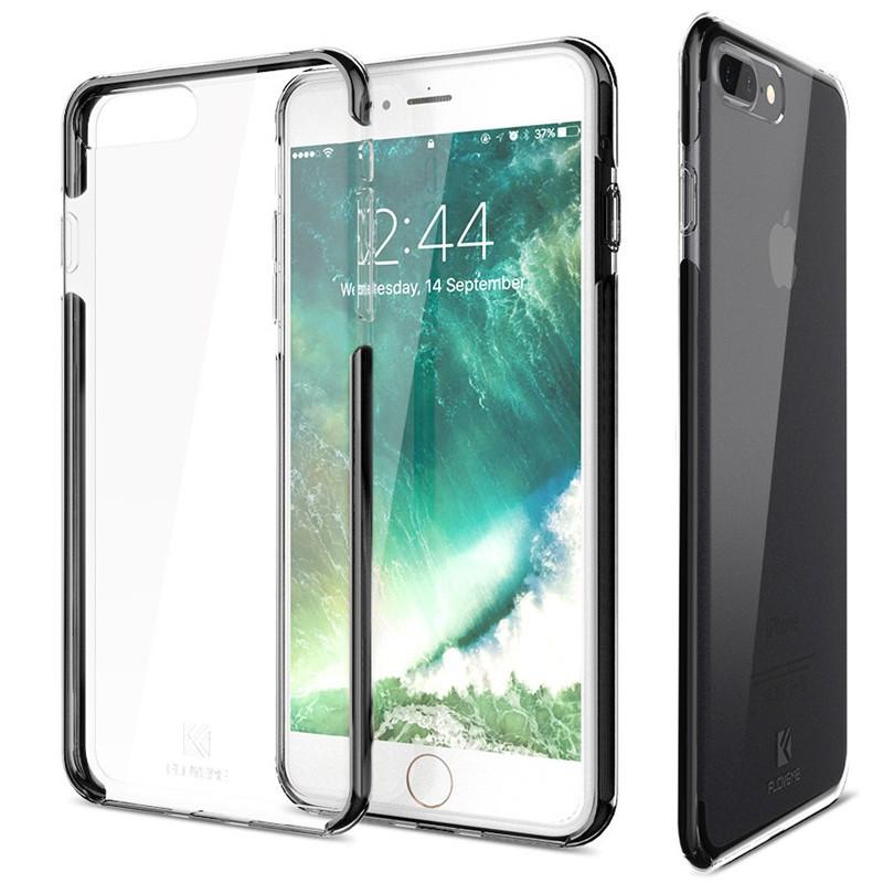 Coque FLOVEME Hybride avec contour renforcés Apple iPhone 7/8 Plus Noir