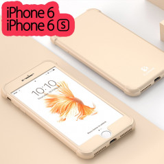 Coque FLOVEME 360° Protection angles renforcés Apple iPhone 6/6S