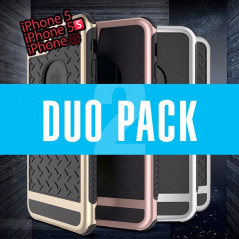 DUOPACK Coque FLOVEME Paladin Series Apple iPhone 5/5S/SE