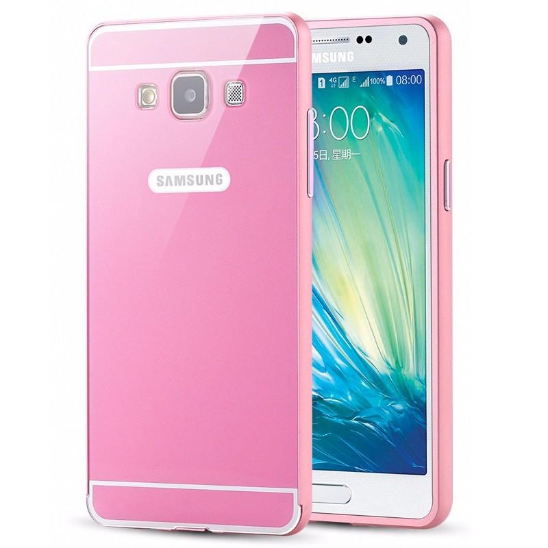 Coque aluminum Samsung Galaxy A5 Rose