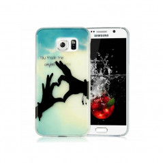 Coque rigide You-made-me Samsung Galaxy S6