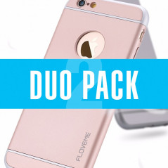 DUOPACK Coque FLOVEME SPRAY FROSTING Apple iPhone 6/6S Plus