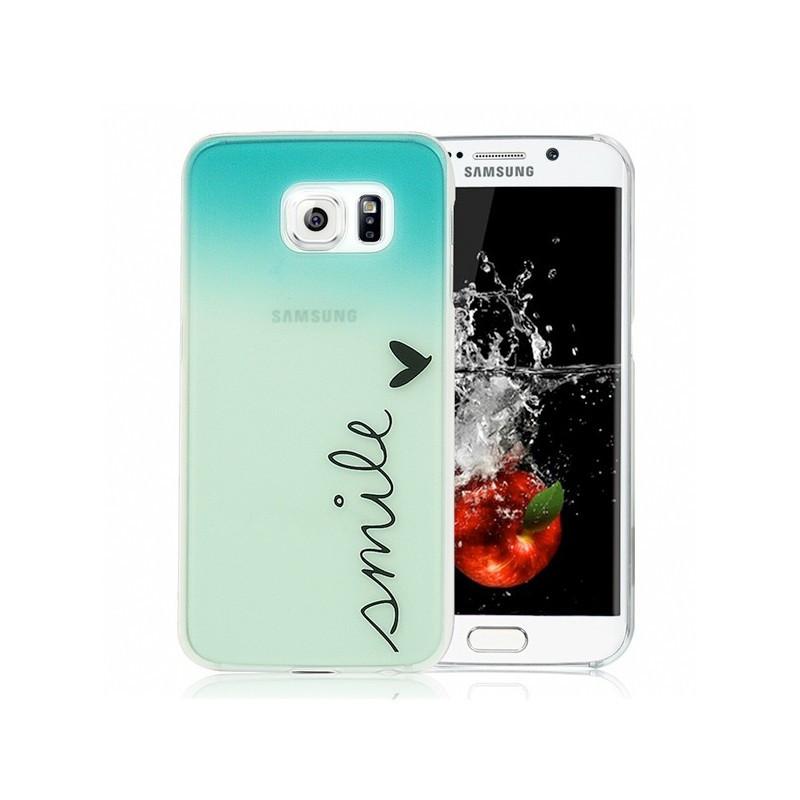 Coque rigide SMILE Samsung Galaxy S6 Edge