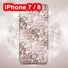 Coque rigide FLOVEME ICE CRACKING Series Apple iPhone 7/8