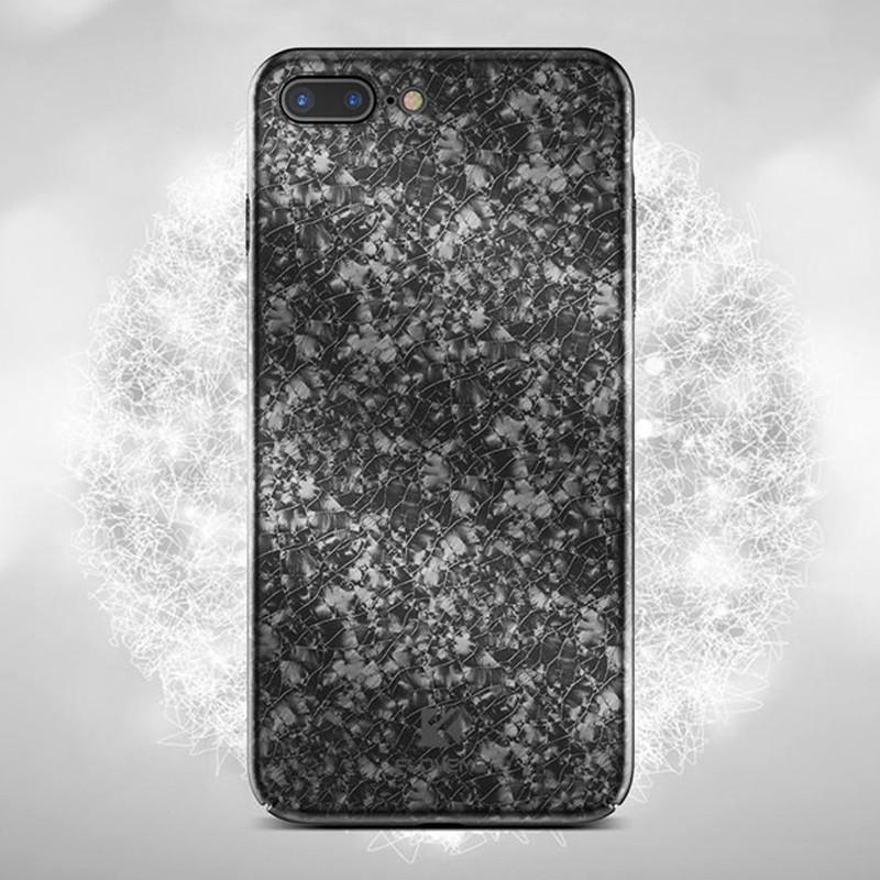 Coque rigide FLOVEME ICE CRACKING Series Apple iPhone 7/8 Plus Noir