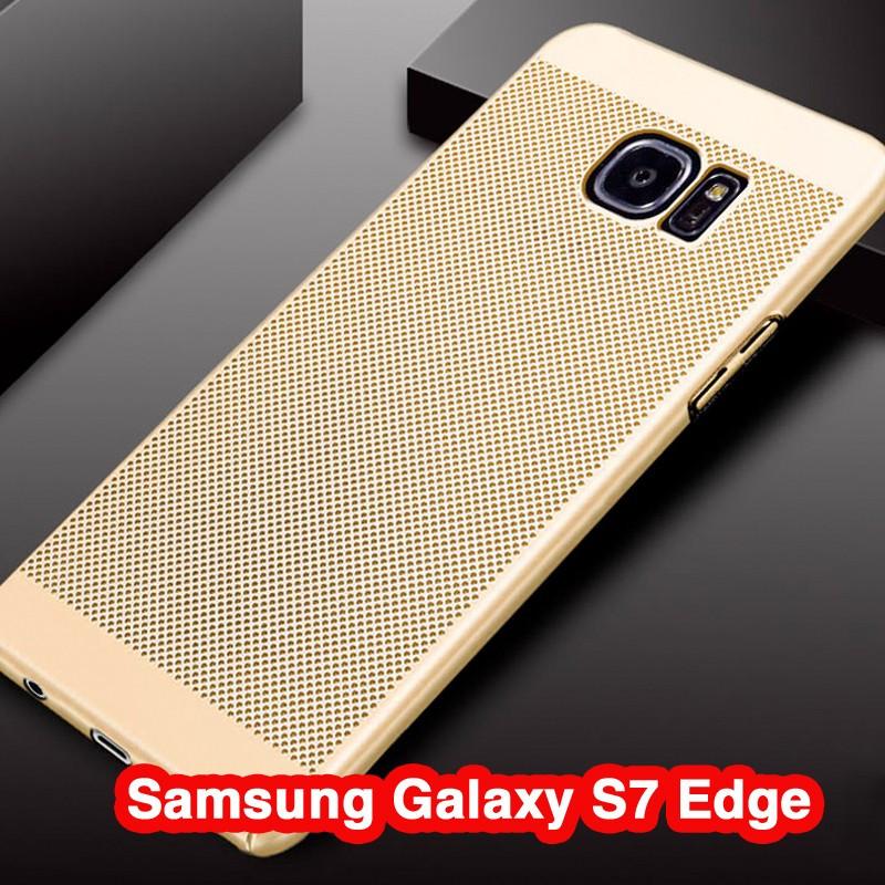 Coque rigide FLOVEME MESH Samsung Galaxy S7 Edge Or