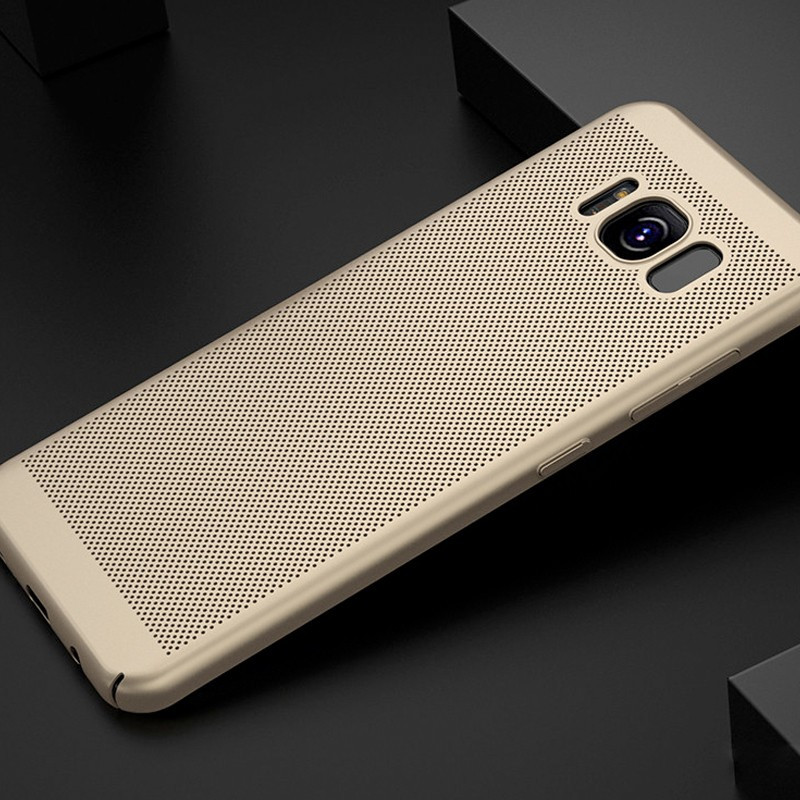Coque rigide FLOVEME MESH Samsung Galaxy S8 Or