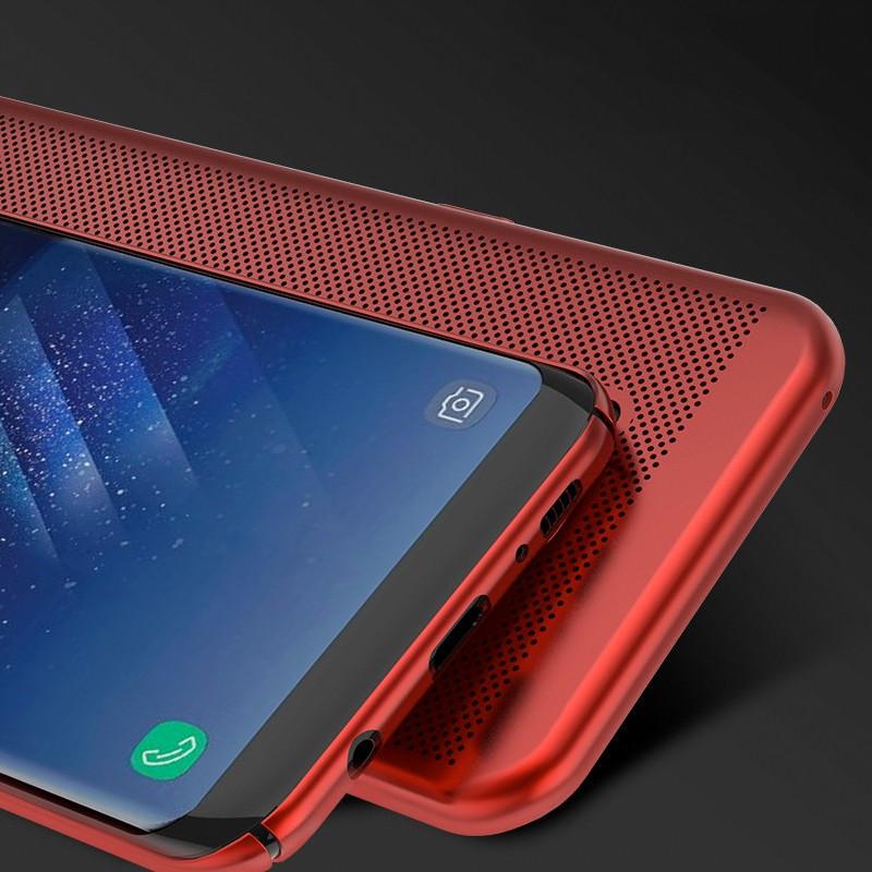 Coque rigide FLOVEME MESH Samsung Galaxy S8 Rouge