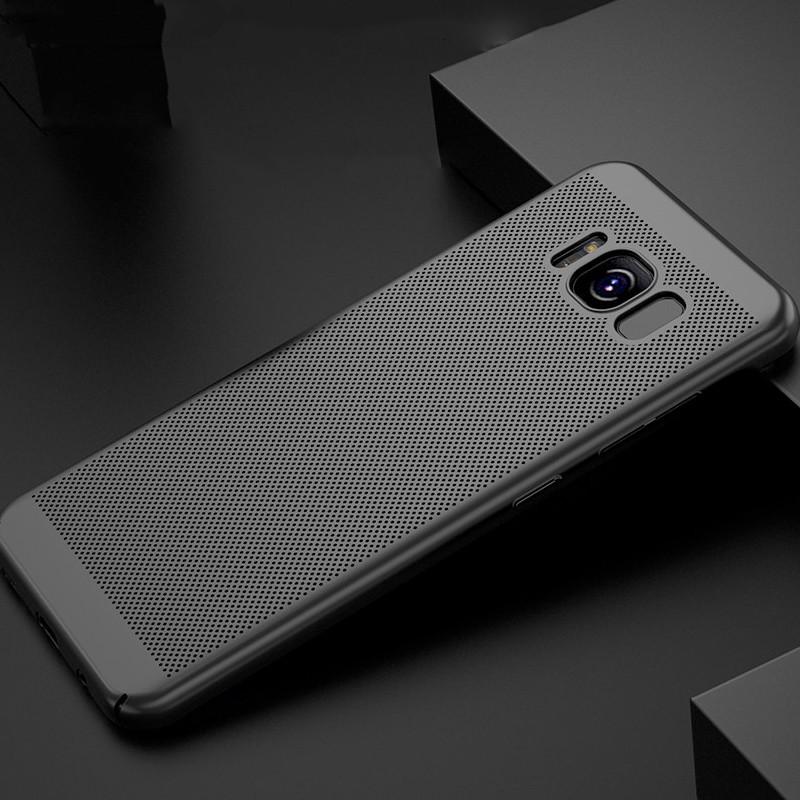 Coque rigide FLOVEME MESH Samsung Galaxy S8 Plus Noir