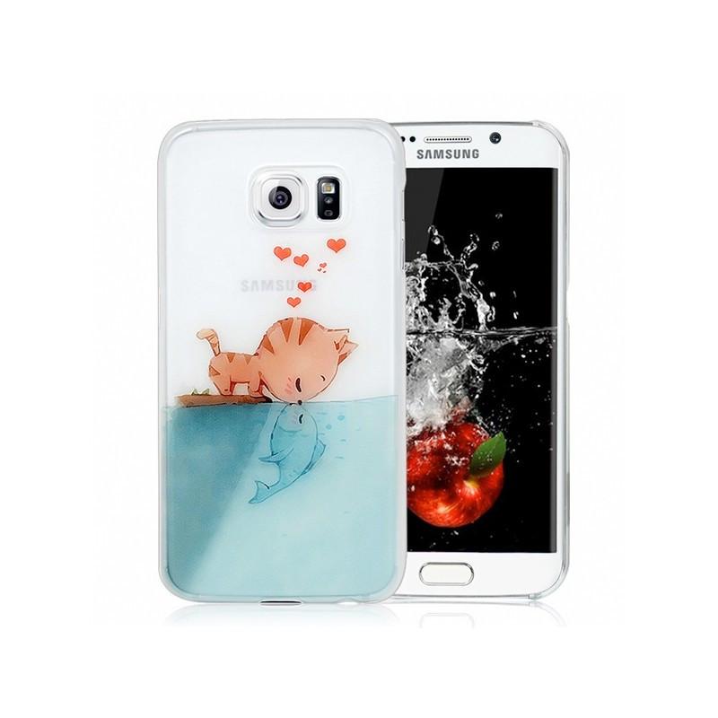 Coque rigide Cat-Fish-in-Love Samsung Galaxy S6 Edge