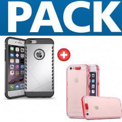 Coque Dual Layer Hybrid + Coque Flash Calling Apple iPhone 6/6S