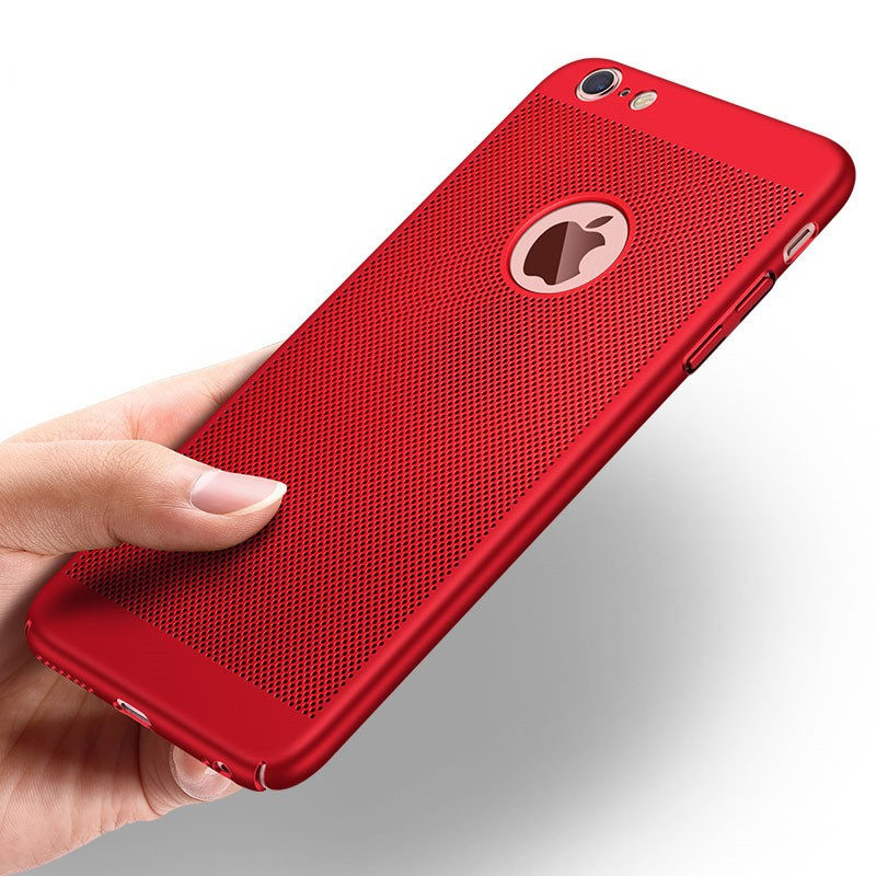 Coque rigide FLOVEME MESH Apple iPhone 6/6S Plus Rouge