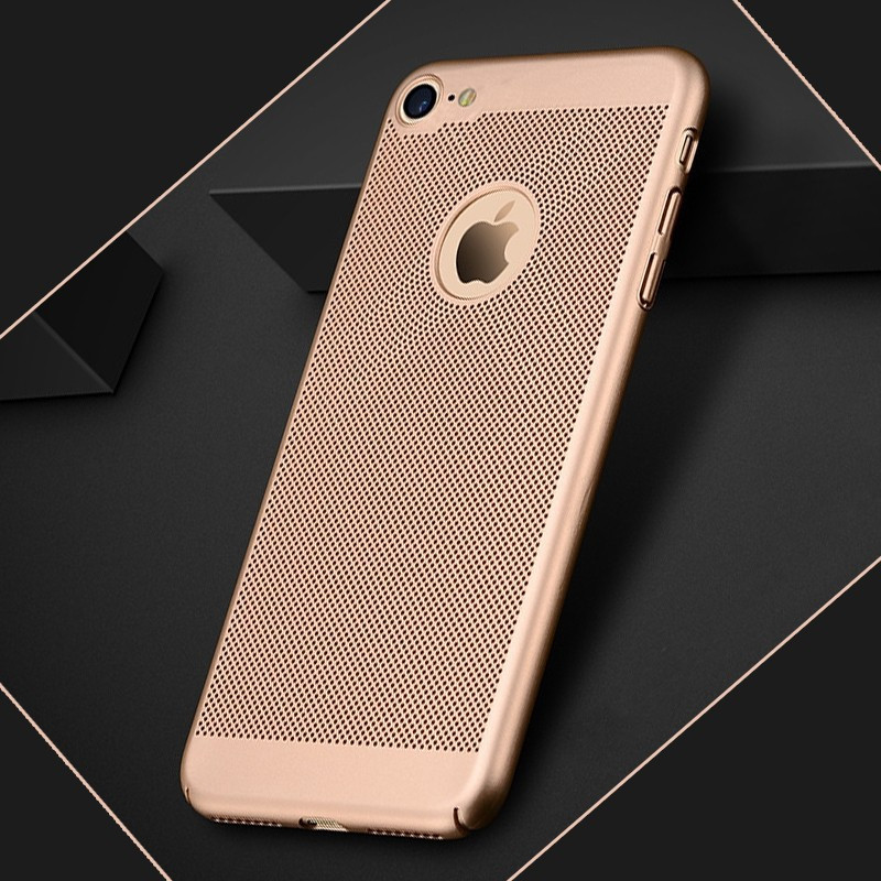 Coque rigide FLOVEME MESH Apple iPhone 7/8 Or