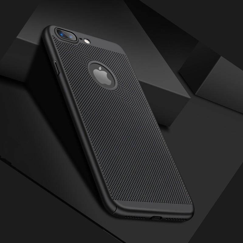 Coque rigide FLOVEME MESH Apple iPhone 7/8 Plus Noir