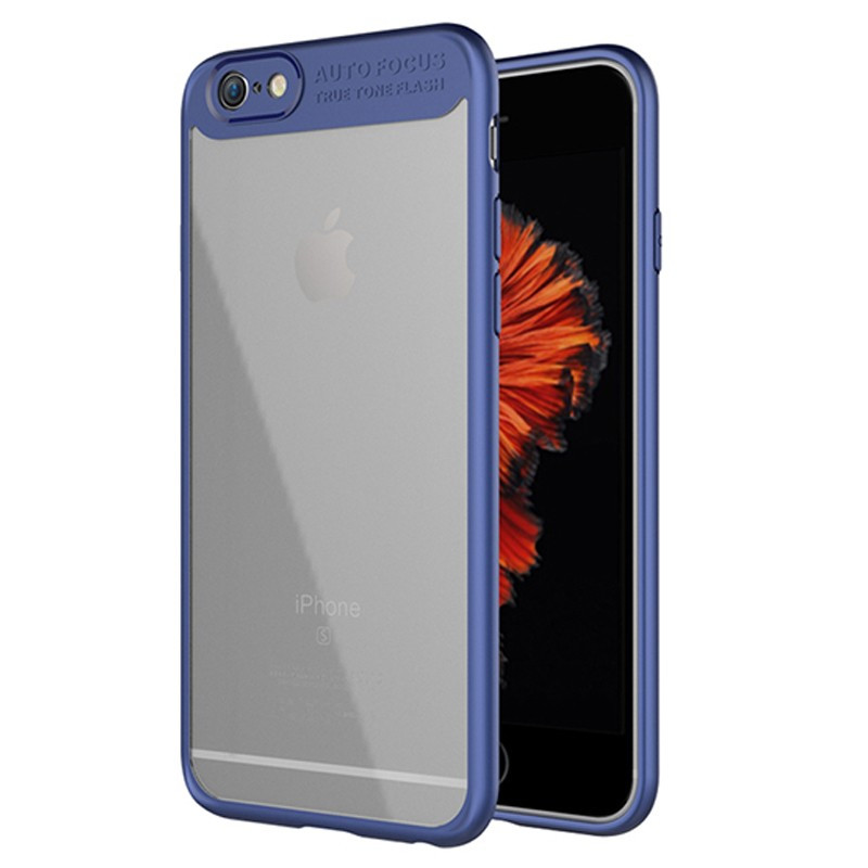 Coque rigide FLOVEME ultra-Clear contours Bumper antichoc Apple iPhone 6/6S Plus Bleu