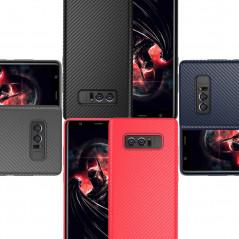 Coque silicone gel Floveme Carbon Style Samsung Galaxy Note 8