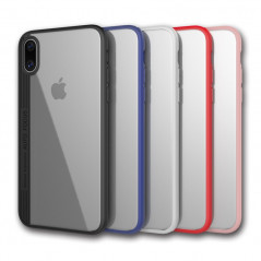 Coque rigide FLOVEME ultra-Clear contours Bumper antichoc Apple iPhone X/Xs
