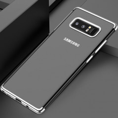 Coque silicone gel FLOVEME 3D Plating contours métallisé Samsung Galaxy Note 8