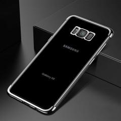 Coque silicone gel FLOVEME 3D Plating contours métallisé Samsung Galaxy S8 Plus